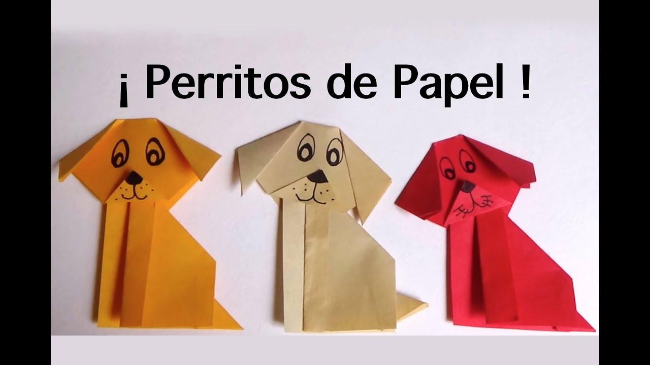 Como hacer un perro de papel origami facil youtube - Como banar a un perro ...