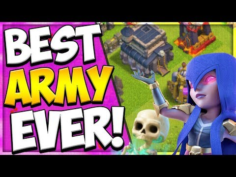 Witchslap Is The Best TH 9 Attack Strategy   Easy TH 9 Attack Strategy   Clash Of Clans
