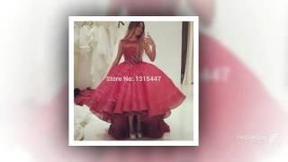 Свадебные платья феста длинные платья выпускного вечера 2015 совок половина чистой обратно