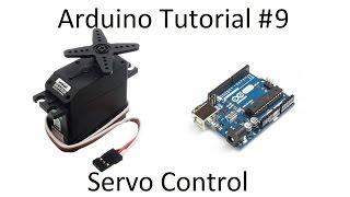 Arduino #9 - Servo Selection & Motion Control