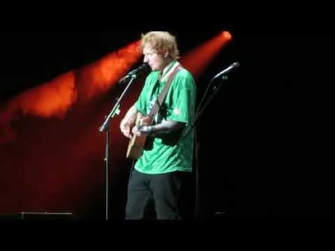 Ed Sheeran dublin o2 oct 2014 little bird