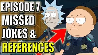 rick and morty season 3 episode 7 easter eggs missed jokes
