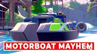 Complete a lap aт Motorboat Mayhem