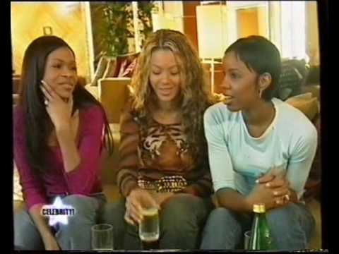 Destiny's Child Celebrity! interview 2000
