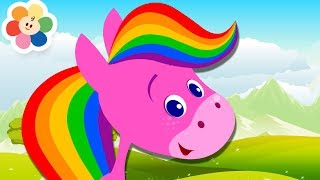 Learn All the Colors | Color Crew & Rainbow Horse | Learn Colors with Rainbow Horse on BabyFirst