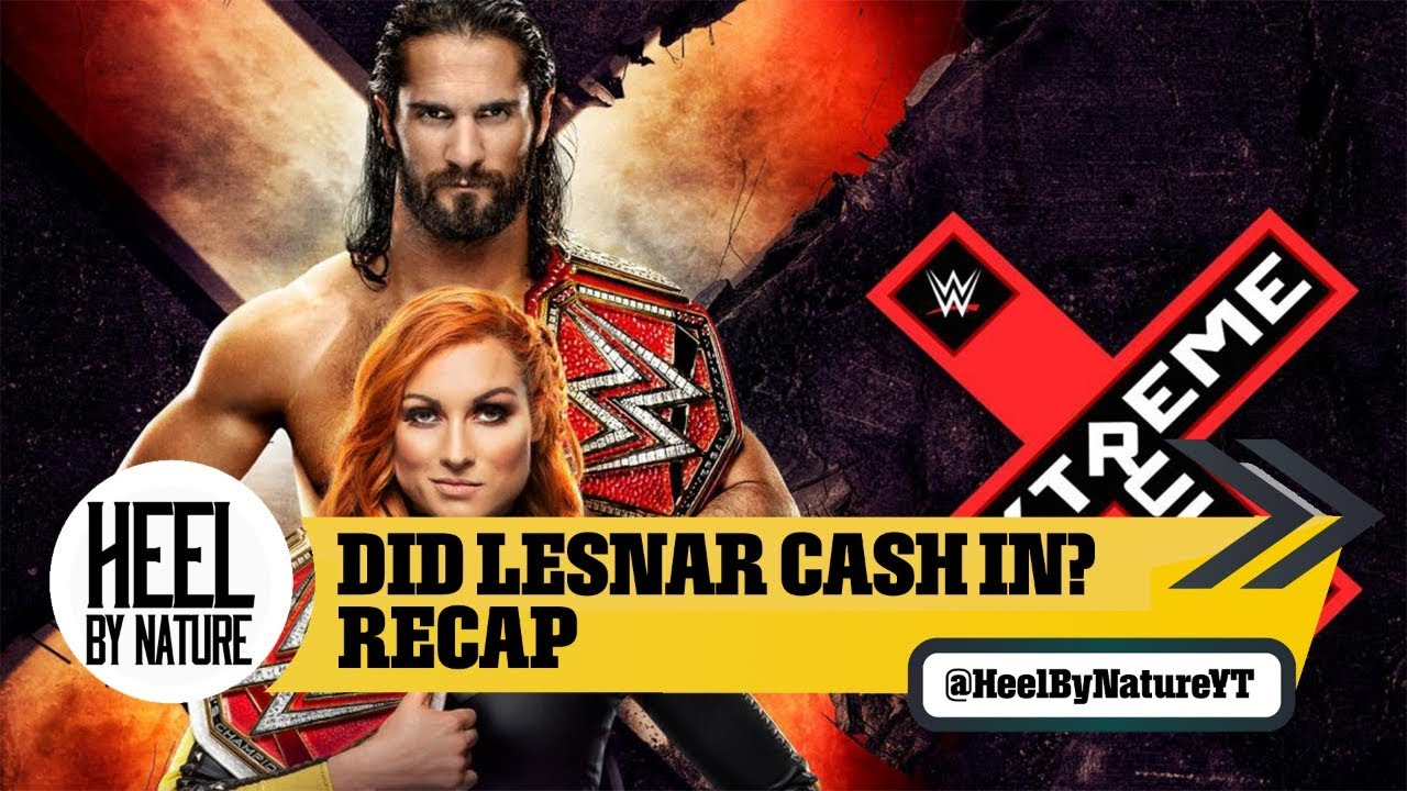 2019 WWE Extreme Rules results, recap, grades: Brock Lesnar cashes in, four title changes