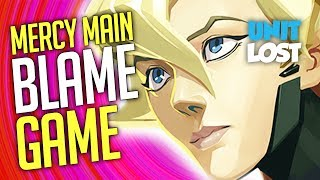 Overwatch - Mercy Main BLAME Game (Is It Really Her Fault?)
