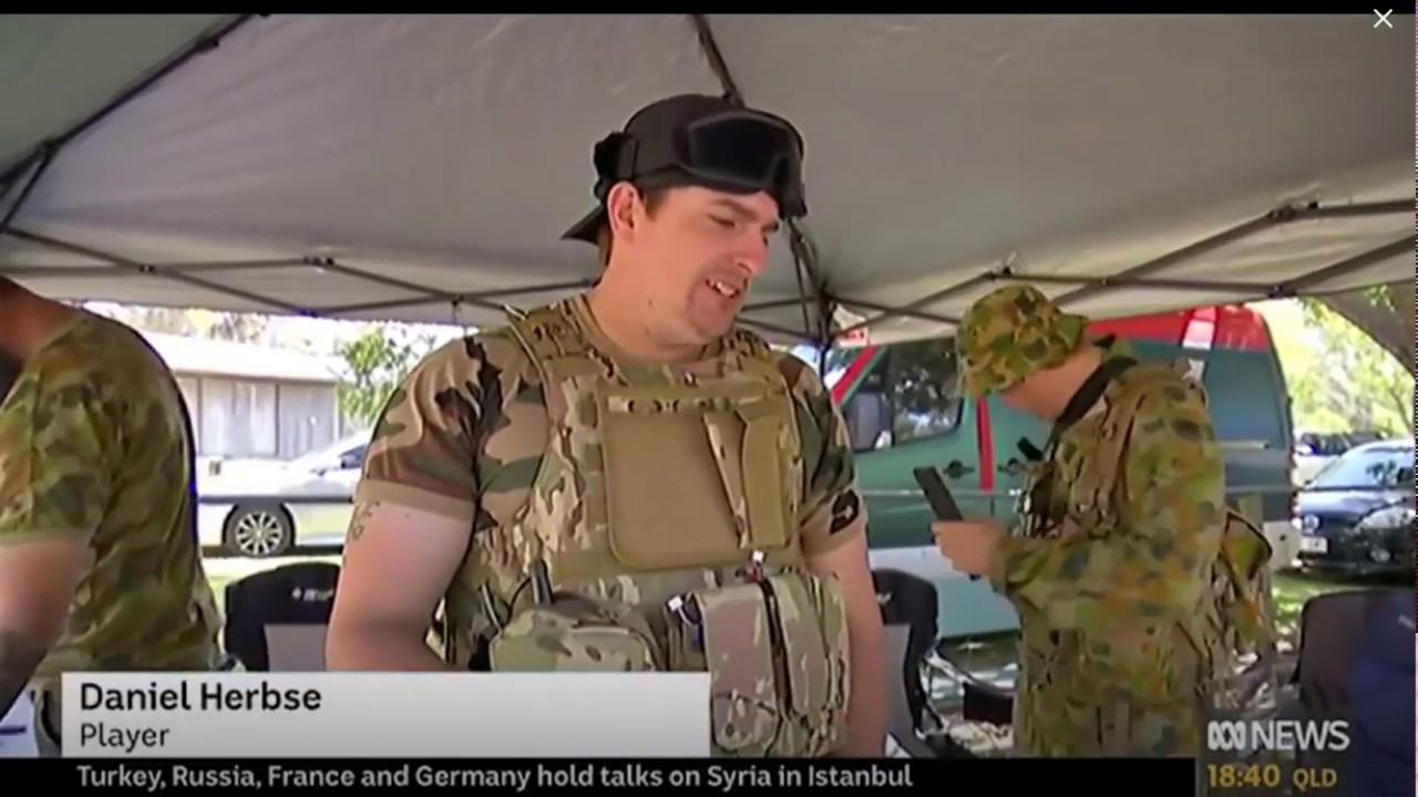 ABC News Australia Gel Blasters, QLD Footage