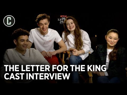 Netflix's Letter for the King Cast Debates Who Could Win A Sword Fight