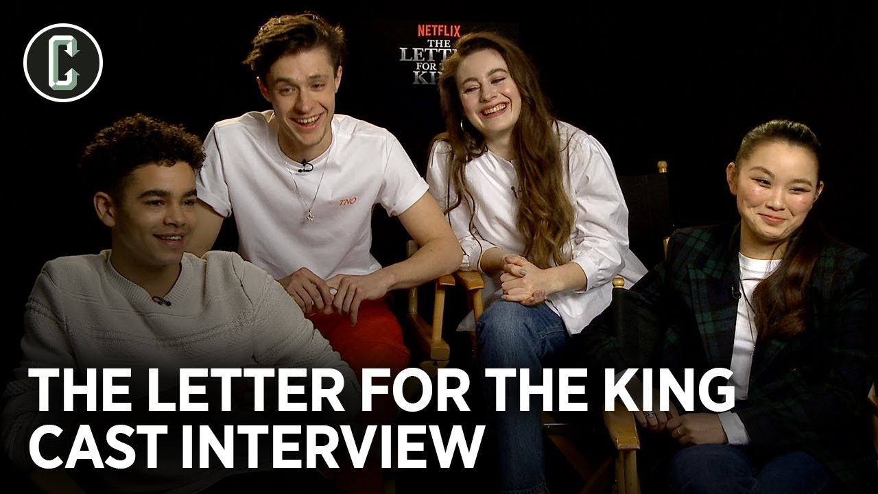 Netflix S Letter For The King Cast Debates Who Could Win A Sword Fight Youtube