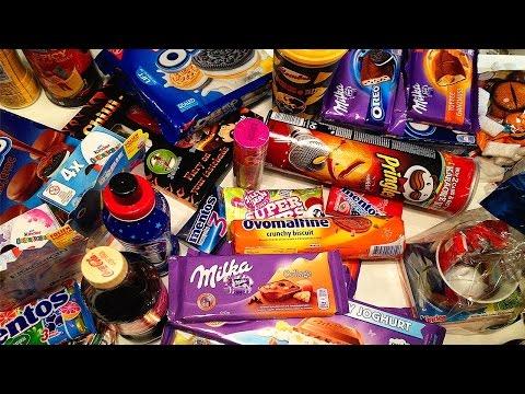 Огромная Коробка Со Сладостями 15 Килограмм Вкусняшек И Сладостей Сладости Из Европы Mega Sweet Box