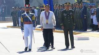 Commencement Exercises of the PMA 'ALAB TALA' Class of 2018 Arrival Honors