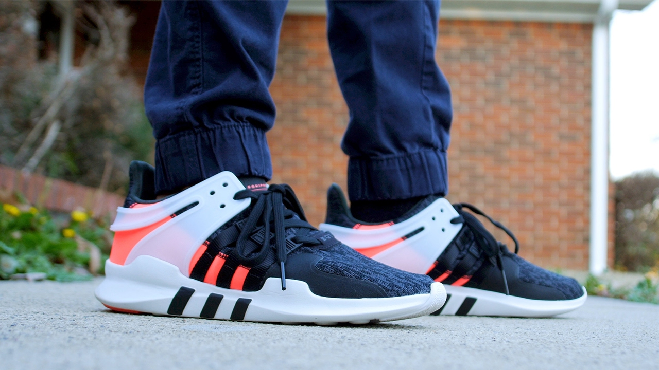 sale retailer 2a1cb 27ad6 2017 Adidas EQT ADV Support 91-16 Review  On Feet  Turbo Red