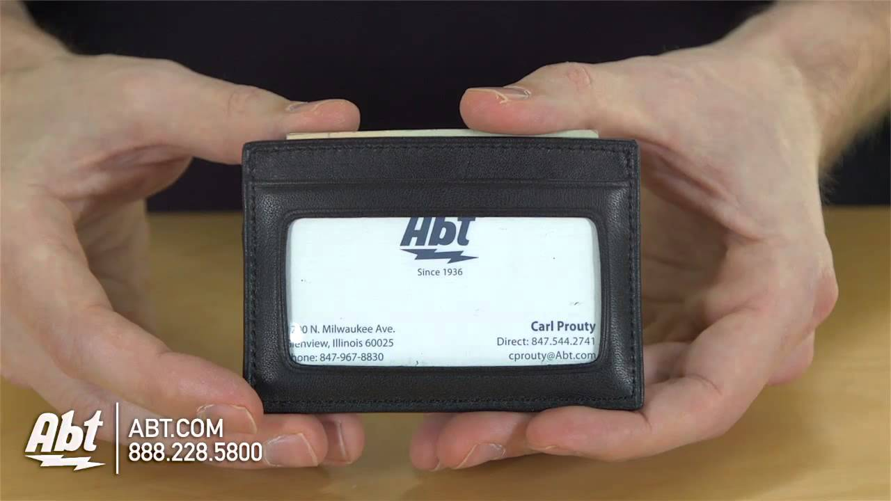 Tumi Delta Collection ID Card Case Overview - YouTube