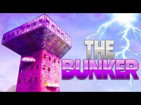 THE BUNKER (Fortnite Battle Royale) | rhinoCRUNCH