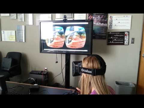 Using 'Virtual Reality' Goggles to Envision Architecture