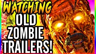 watching old trailers call of duty waw black ops black ops 2 zombie trailers