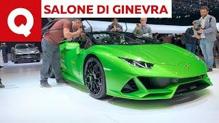 Lamborghini Huracan EVO Spyder, il 10 cilindri perde il tetto - Salone di Ginevra 2019
