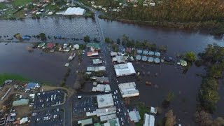 Tasmanian: Huonville hit by worst flood in 2 decades
