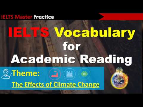 IELTS Vocabulary for Academic Reading - Climate Change