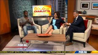 Comedian Jay Pharoah on Good Day Charlotte