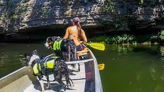 Family Canoe the Caney Trip - 2015