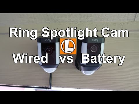 Ring Spotlight Cam Battery Installation and Setup | Easy to Connect