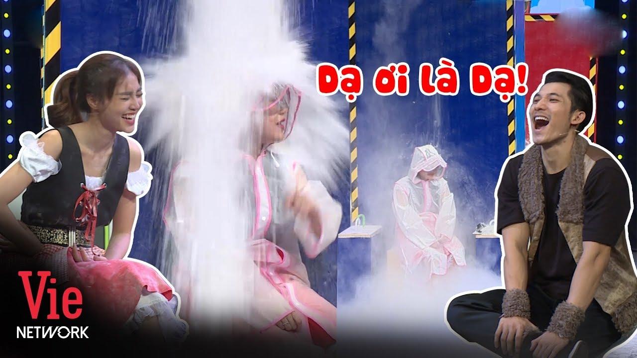 Lan Ngọc cười vô mặt người chị Lâm Vỹ Dạ không kịp trở tay hứng cả kí lô bột bay màu   7NCX