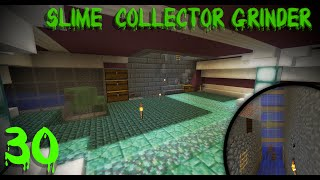 Slime Collection System/Alien Room! | Minecraft Vanilla 1.8 Survival Ep. 30