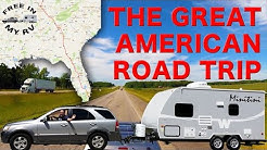 GREAT AMERICAN ROAD TRIP - RV trip from MIAMI to CHICAGO and back, boondocking and exploring.