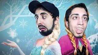 dois idiotas quebrando o gelo