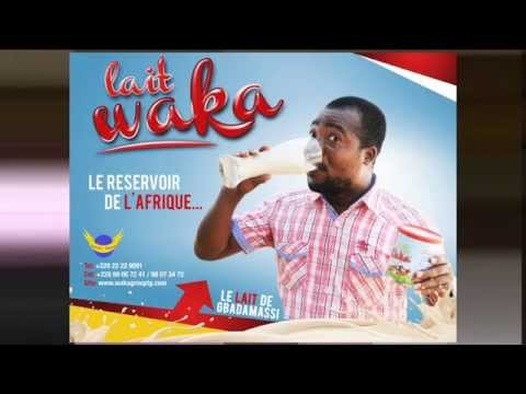 Lait Waka : Publicité du Lait Waka depuis le Togo avec Gbadamassi - Folo ...