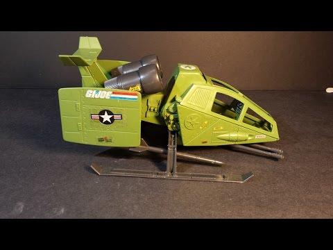 HCC788 - 1984 SKY HAWK - vintage G. I. Joe toy review! - HD
