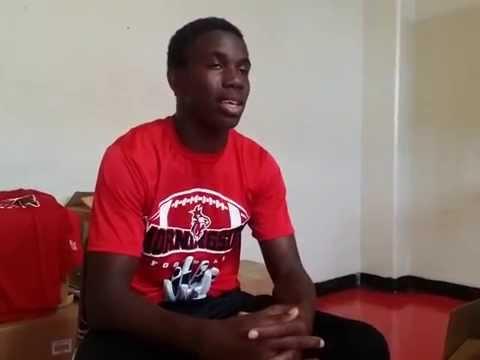 2015 Football Program Morningside High School Student interview 2