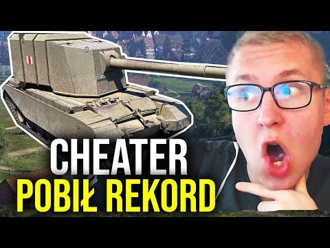 CHEATER POBIŁ REKORD? - World of Tanks thumbnail