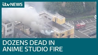 Dozens feared dead after man screaming 'You die' sets anime studio on fire | ITV News