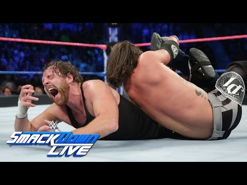 Thumbnail: Dean Ambrose vs. AJ Styles - If Ambrose wins, he is No. 1 Contender: SmackDown LIVE, Oct. 25, 2016