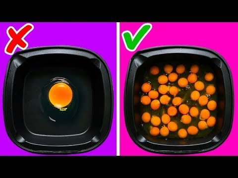 46 AWESOME COOKING HACKS WITH SIMPLE PRODUCTS