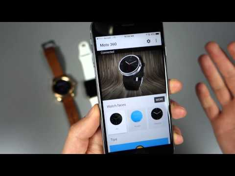 Using Android Wear On IOS (Moto 360 Too!)
