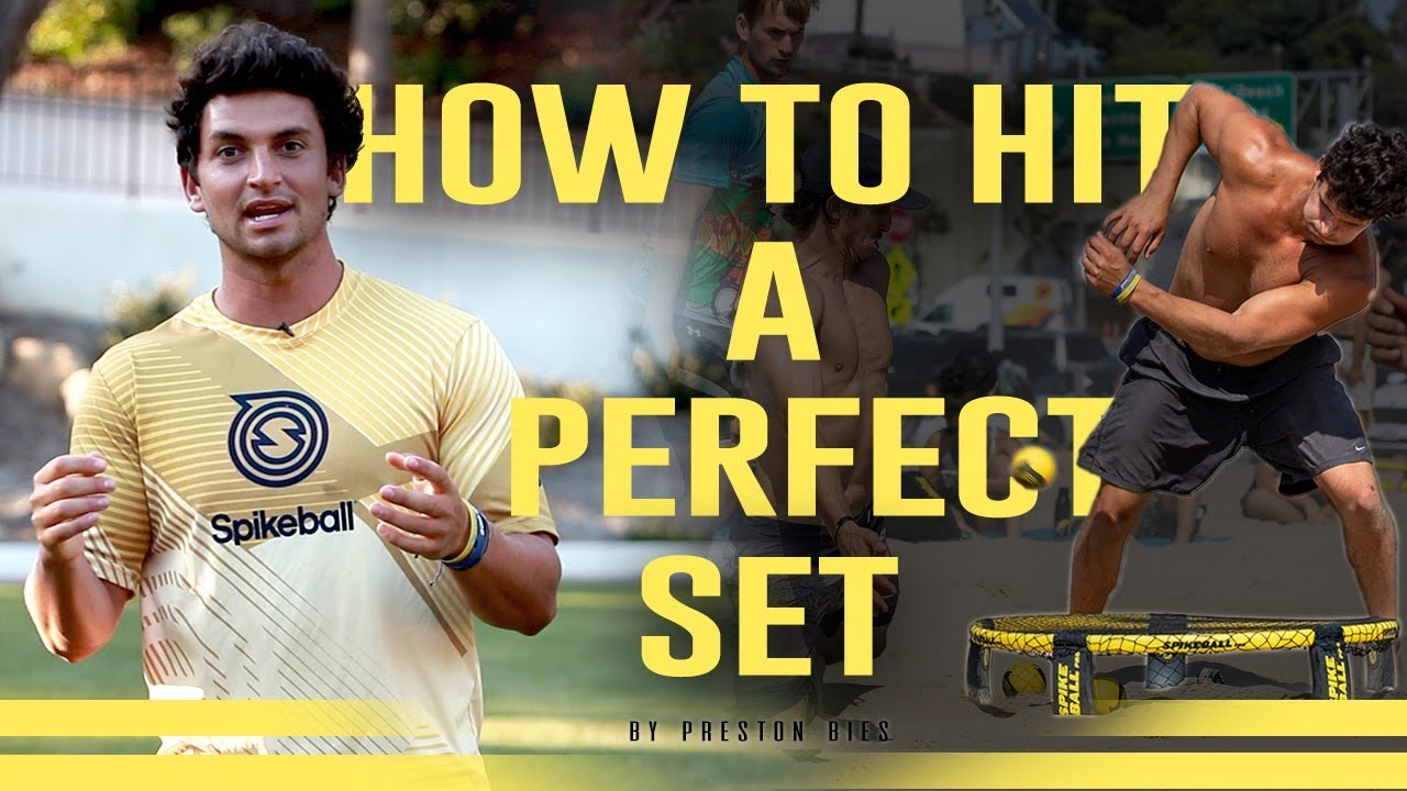 HOW TO ROUNDNET: Over the Net Hitting