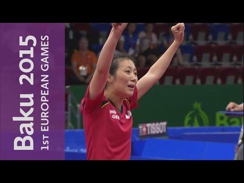 DAY 3 Replay   Table Tennis & Water Polo   Baku 2015 European Games