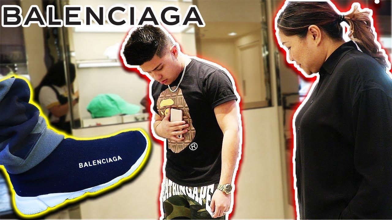5730e9c233b3 WEARING FAKE BALENCIAGAS TO THE BALENCIAGA STORE! - YouTube
