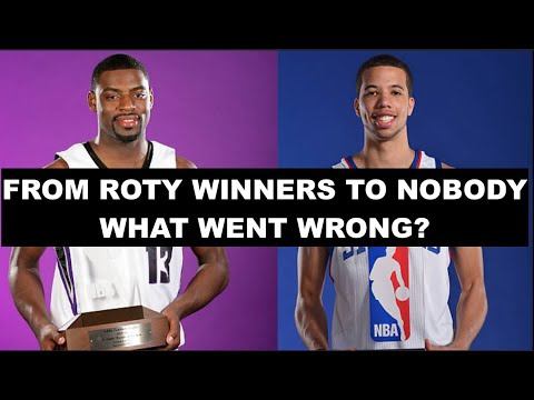 7 Former NBA Rookie Of The Year Winners Who Completely Fell Off   What Happened?