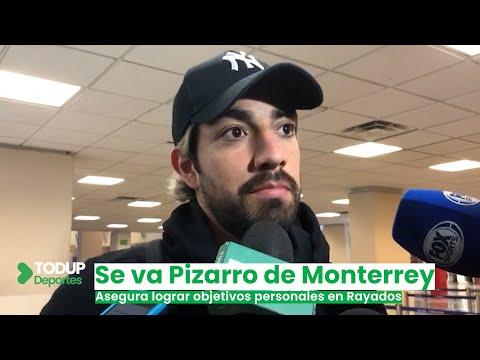 """""""Lo pude haber hecho mejor"""", dice Rodolfo Pizarro al abandonar la ciudad de Monterrey"""