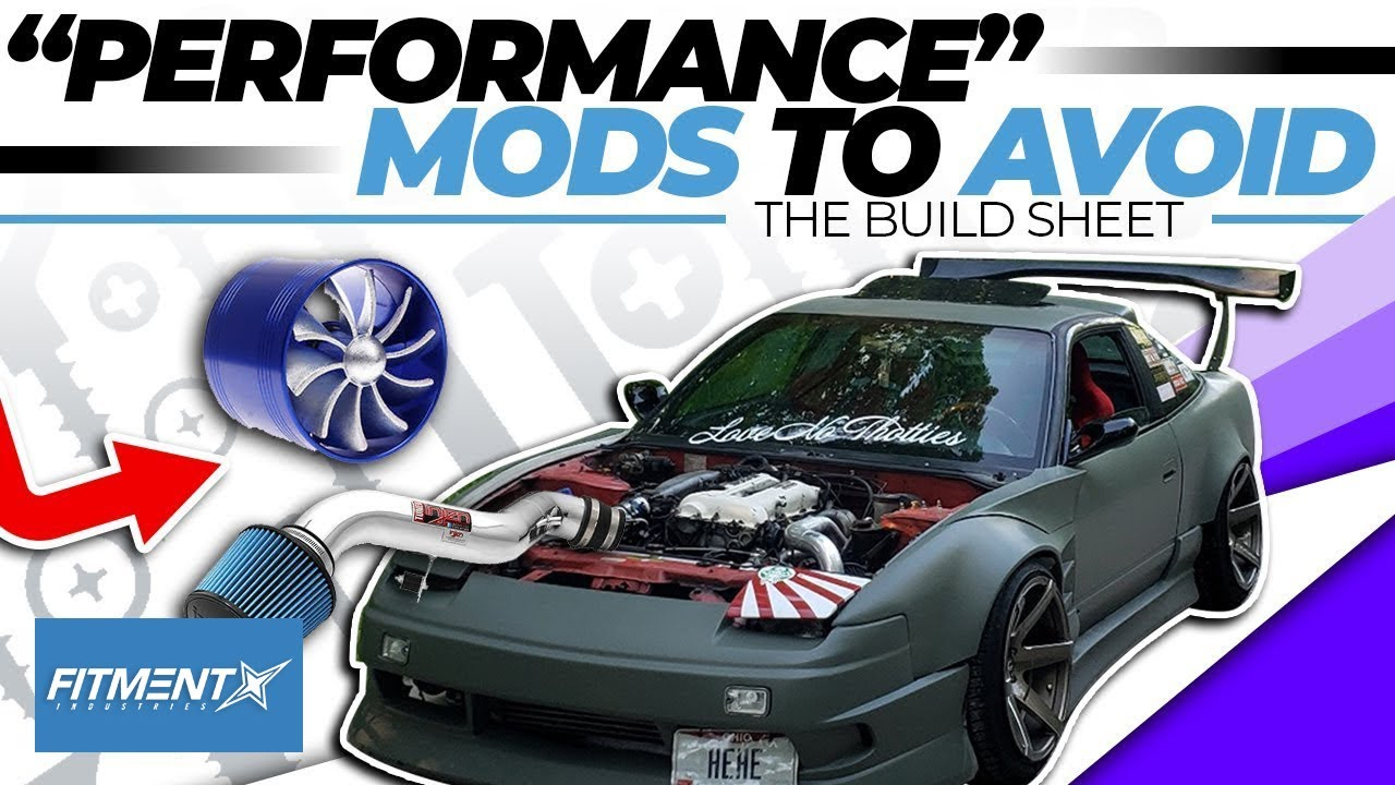 Performance Mods You Should Stay Away From | The Build Sheet