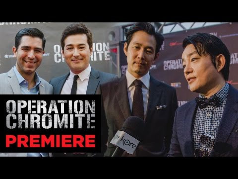 'Operation Chromite' Red Carpet Movie Premiere
