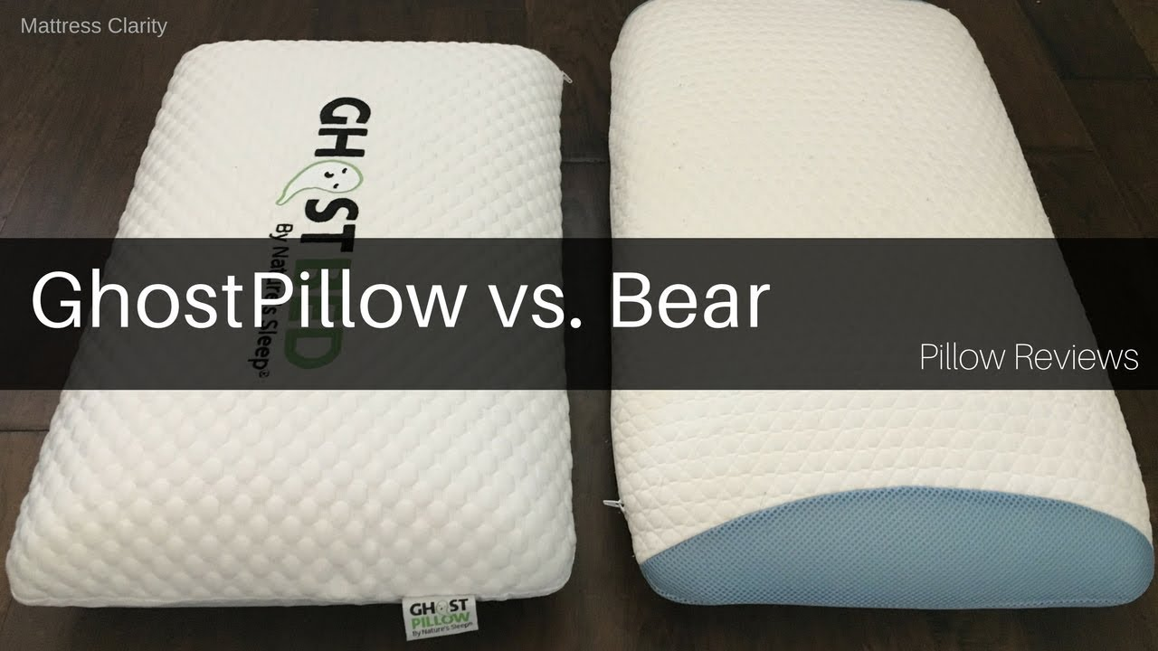 pillow reviews ghostpillow vs bear