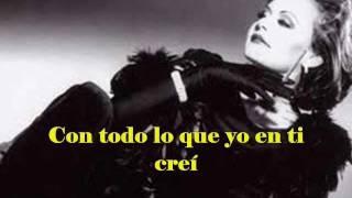 Rocío Dúrcal - Como tu mujer (Letra)