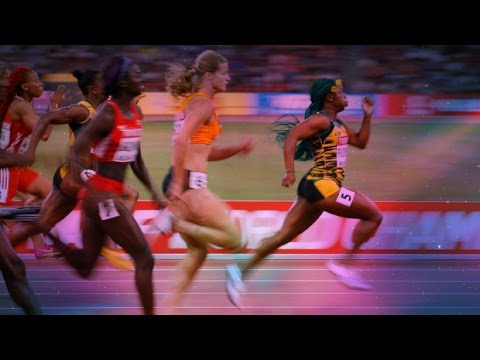 Shelly-Ann Fraser-Pryce - Sprinting Montage