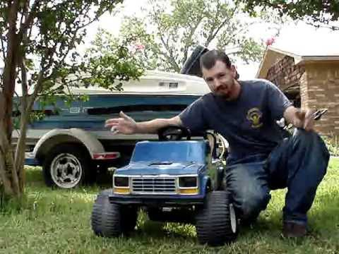 I Got A Power Wheels Big Foot Finally Youtube